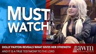 Dolly Parton Explains The Only Reason For Her Success, Her Faith In Jesus - Video