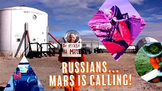 Russian, Blonde and heading to Mars - Video