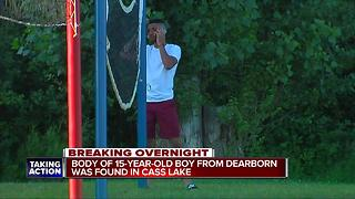 Body pulled from Cass Lake - Video