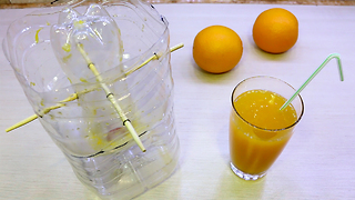 How to make a homemade juicer - Video