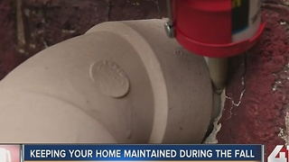 Keeping your home maintained during the fall