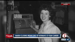 Marsh closing means end of woman's 57-year career - Video