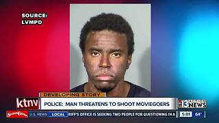 Man arrested for threatening to shoot people at Star Wars showing - Video