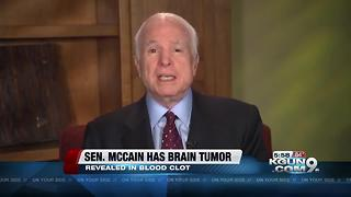 Sen. John McCain had brain tumor removed - Video
