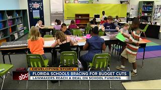 Florida schools bracing for budget cuts - Video