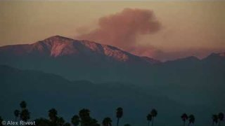 Timelapse Video Shows Blue Cut Fire From San Gabriel Valley - Video