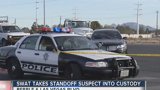 UPDATE: SWAT takes standoff suspect into custody - Video