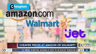 Who has cheaper prices? Walmart or Amazon - Video