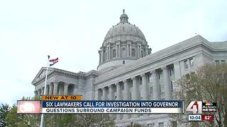 Senators call for investigation into Greitens - Video