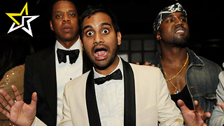 Kanye West Uses Parody Made By Aziz Ansari As Official Video For 'Famous' - Video