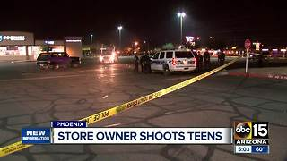 Man shoots teens after being assaulted in Phoenix - Video