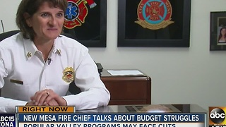 New Mesa fire chief already putting out fires on day 3 of the job - Video