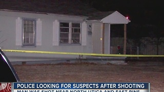 Police Looking For Suspects After Shooting - Video