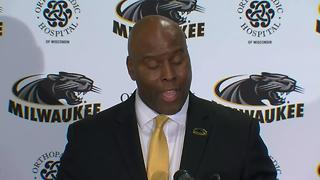 UWM introduces new men's basketball coach - Video