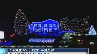 Holiday Lites aglow once again at Miller Valley - Video