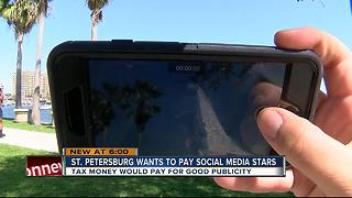 St. Pete could use taxpayers' money to boost social media posts for good publicity - Video