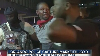 Orlando police capture Markeith Loyd - Video