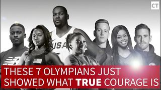7 American Olympians Show What TRUE Courage Is - Video