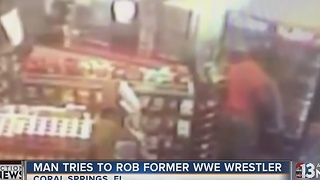 Man in Florida tries to rob the wrong store clerk - Video