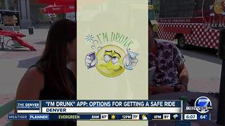 'I'm Drunk' app offers safe ride options with two clicks - Video