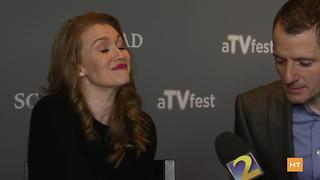 Mireille Enos and Allan Heinberg chat about season 2 of 'The Catch' | Hot Topics - Video