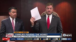 Sen. Heller denounces GOP health care plan - Video