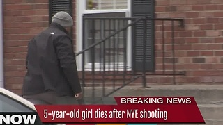 5-year-old girl dies following NYE shooting - Video