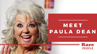 Getting to know TV's Paula Deen | Rare People - Video