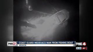 Coast Guard Rescues Man - Video