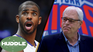 Chris Paul Traded, Phil Jackson Fired -The Huddle - Video