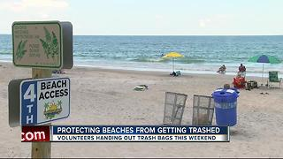 Indian Rocks Beach residents fear trash from tourists over the for 4th of July weekend - Video