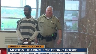 Cedric Poore's hearing continues today - Video