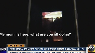 New body camera releases from Arizona Mills incident - Video