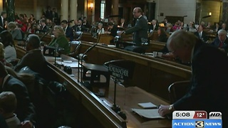 105th Legislative session begins - Video