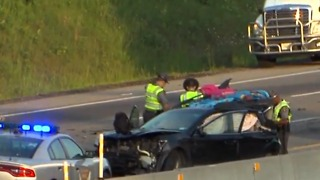 Crash on Ohio Turnpike in Strongsville claims the lives of two children - Video