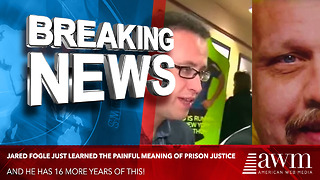Ex-Subway Spokesman Jared Fogle Just Learned The Painful Meaning Of Prison Justice - Video