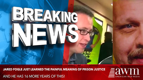 Ex-Subway Spokesman Jared Fogle Just Learned The Painful Meaning Of Prison Justice