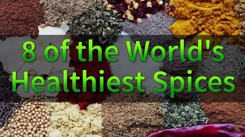 8 of the world's healthiest spices