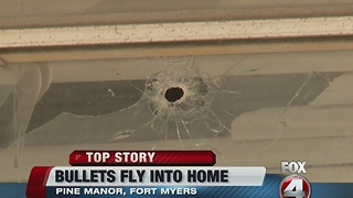 Stroke victim's home shot into, investigation continues