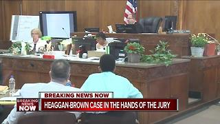 Heaggan-Brown trial now in the hands of the jury - Video