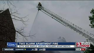 97th and Maple fire - Video