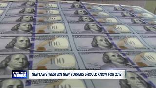 New laws New Yorkers should know for 2018 - Video