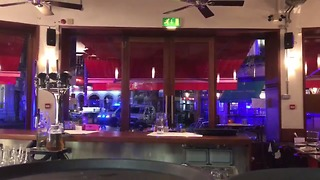 Kitchen Assistant at Borough Market Tapas Restaurant Captures Sound of Gunshots During Police Operation - Video