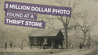 He Sees $2 Picture In Thrift Store, Quickly Realizes It's Worth Millions. Can You Spot Why - Video