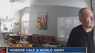 Couple ransacks home of woman on vacation and it's caught on camera - Video