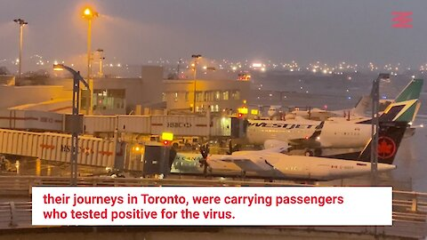 A Flight From Portugal To Toronto Reportedly Held 2 Passengers With COVID-19 Symptoms