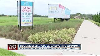 Housing developers expanding into Wimauma - Video