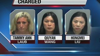 3 arrested in Lee County massage parlor sting - Video