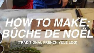 HOW TO: BUCHE DE NOEL with Coquette Patisserie - Video