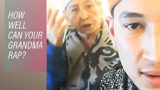 Rapping Kazakh Grandma becomes an Internet sensation - Video